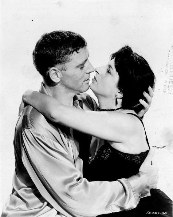 Burt Lancaster and anna magnani