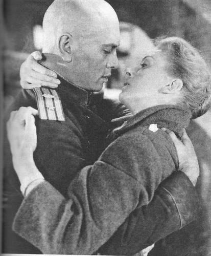 Yul Brynner and Deborah Kerr