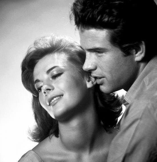 Warren Beatty e Natalie Wood