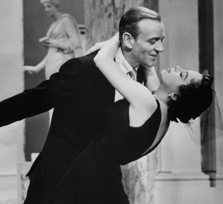 Fred Astaire & Leslie Caron