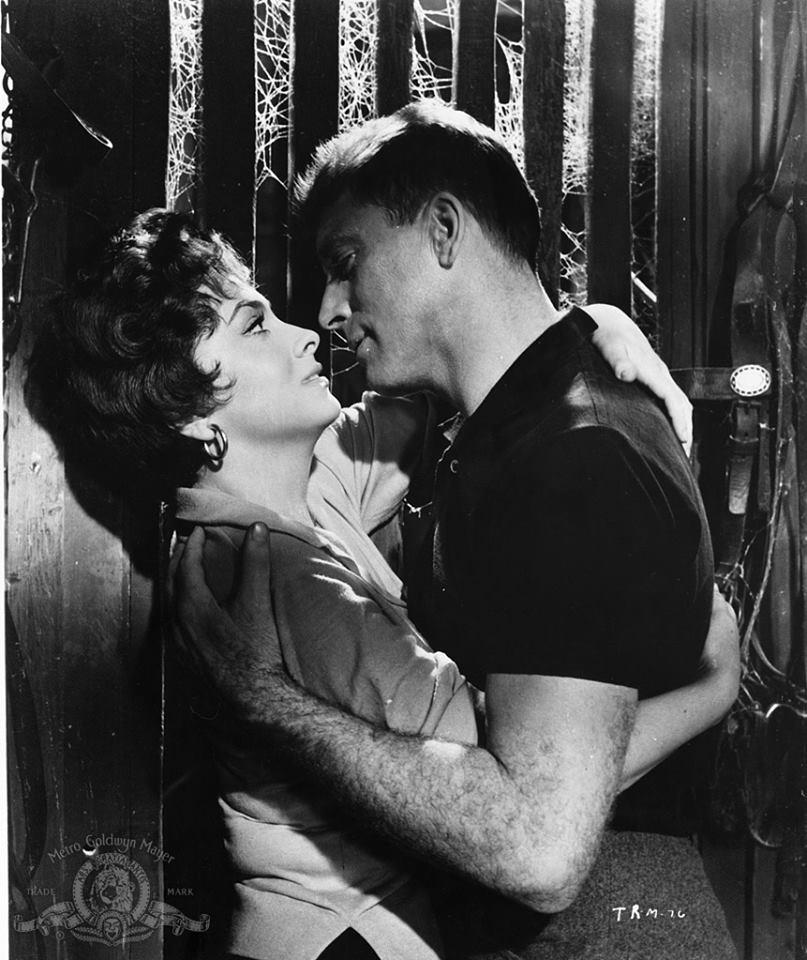 Burt Lancaster and Gina Lollobrigida