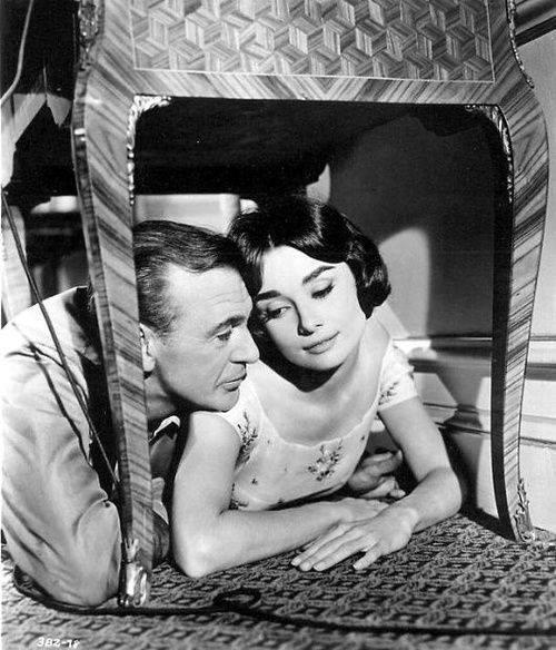 Gary Cooper e Audrey Hepburn
