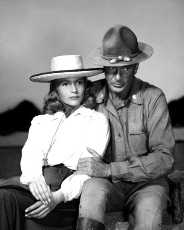 Gary Cooper e Rita Hayworth