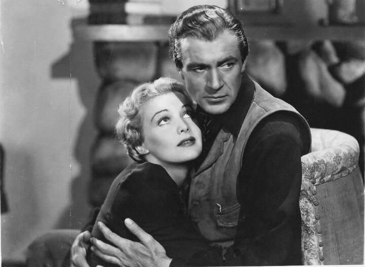Gary Cooper and Madeleine Carroll