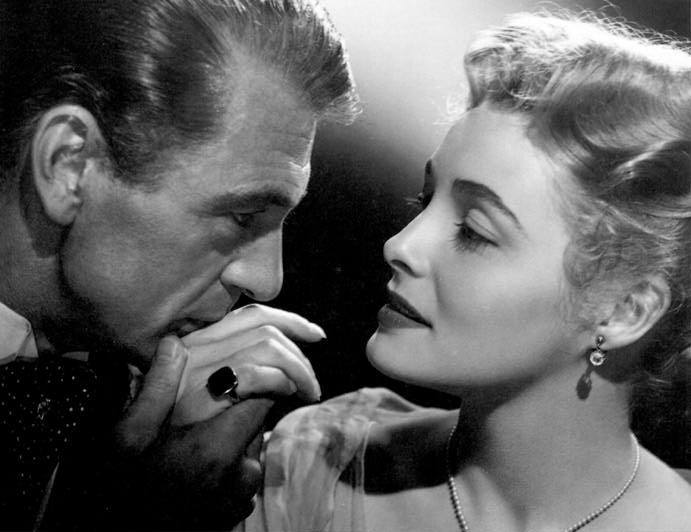 Gary Cooper and Patricia Neal