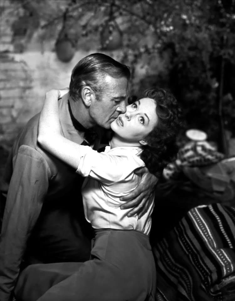 Gary Cooper and Susan Hayward