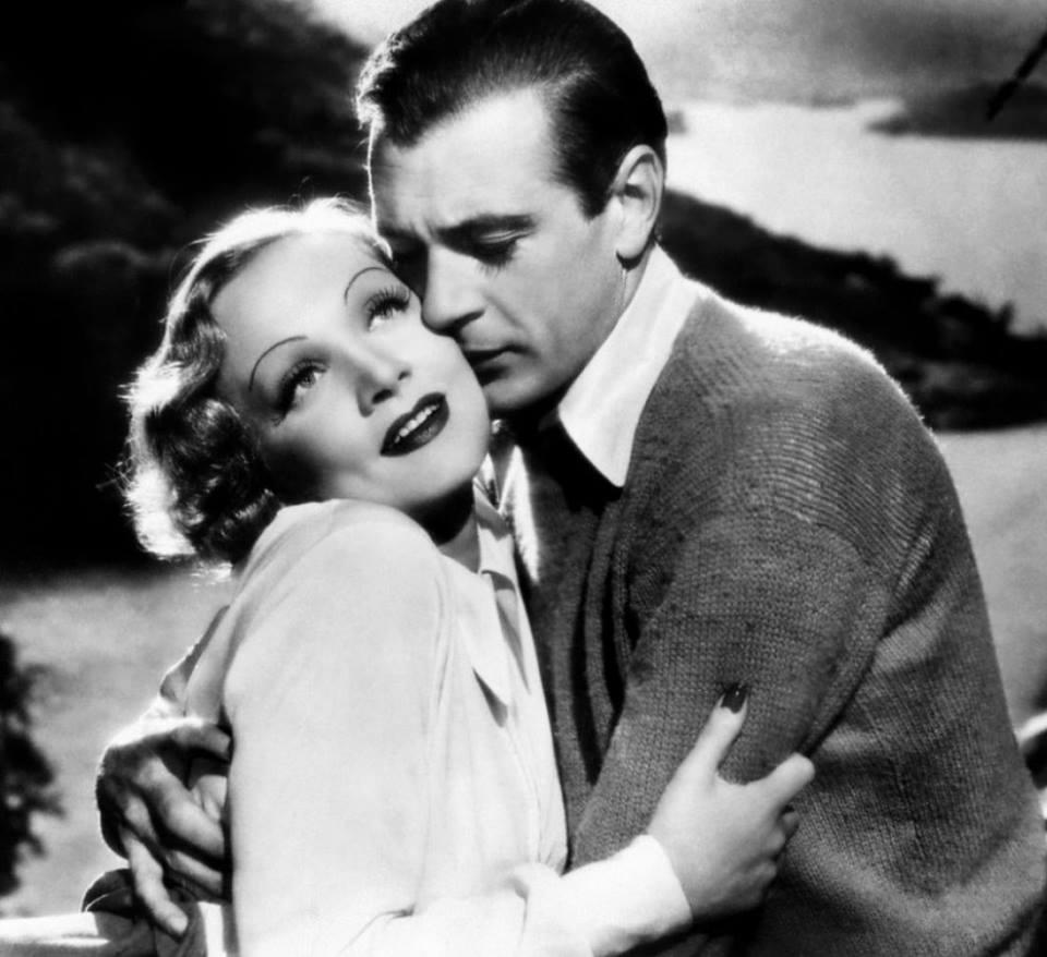Gary Cooper & Marlene Dietrich