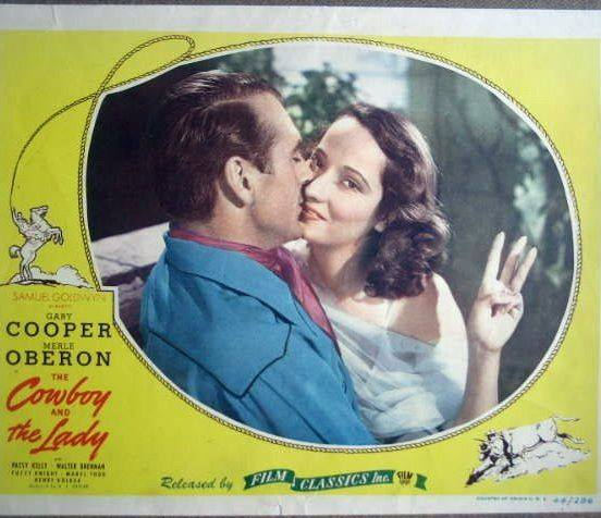 GARY COOPER & MERLE OBERON