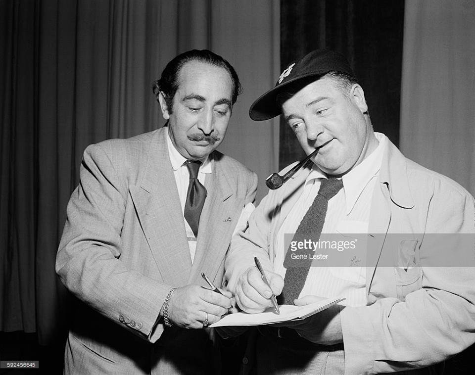 Lou Costello and Bad Abbott