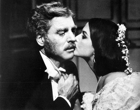 Burt Lancaster and Claudia Cardinale
