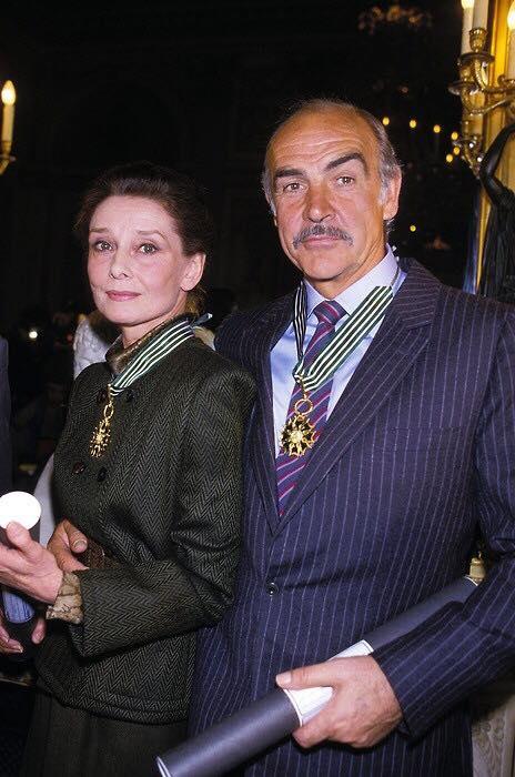 Audrey Hepburn & Sean Connery