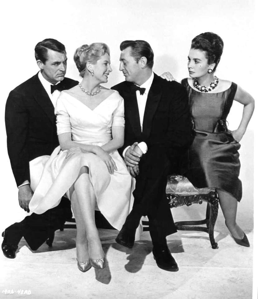 Cary Grant, Deborah Kerr, Robert Mitchum e Jean Simmons