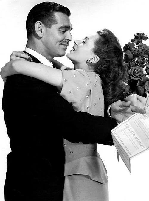 Clark Gable e Deborah Kerr