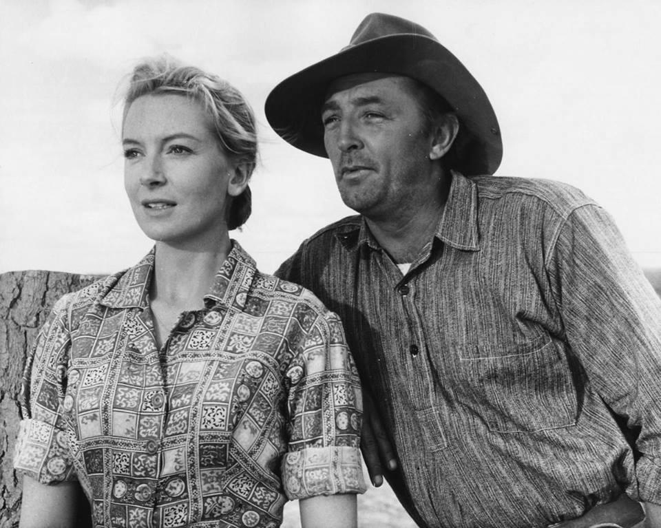 Robert Mitchum e Deborah Kerr