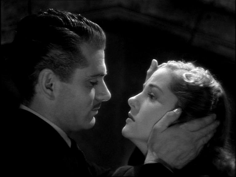 Laurence Olivier and Joan Fontaine
