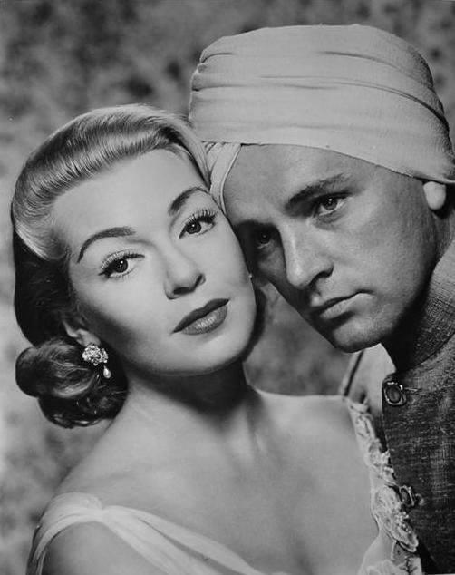 Richard Burton and Lana Turner