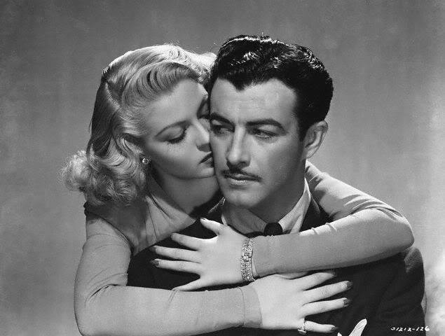 Robert Taylor and Lana Turner