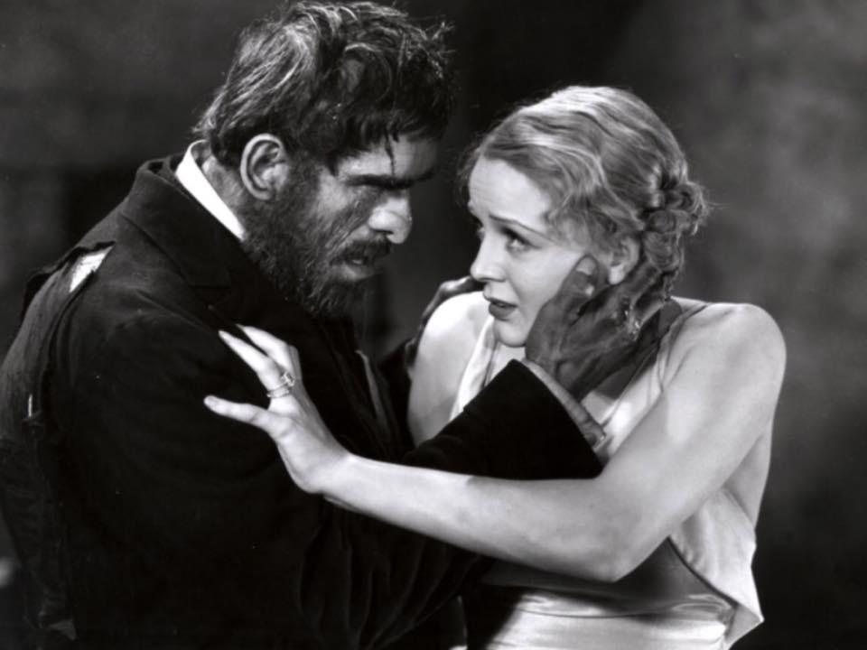 Boris Karloff and Gloria Stuart in The Old Dark House (James Whale, 1932)