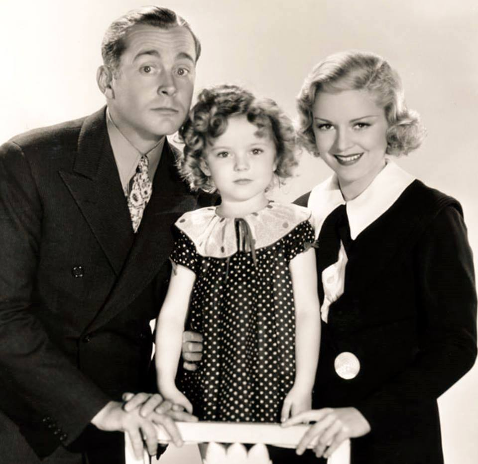 JAMES DUNN, SHIRLEY TEMPLE & CLAIRE TREVOR