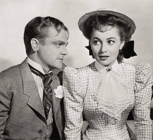 JAMES CAGNEY & OLIVIA DE HAVILLAND