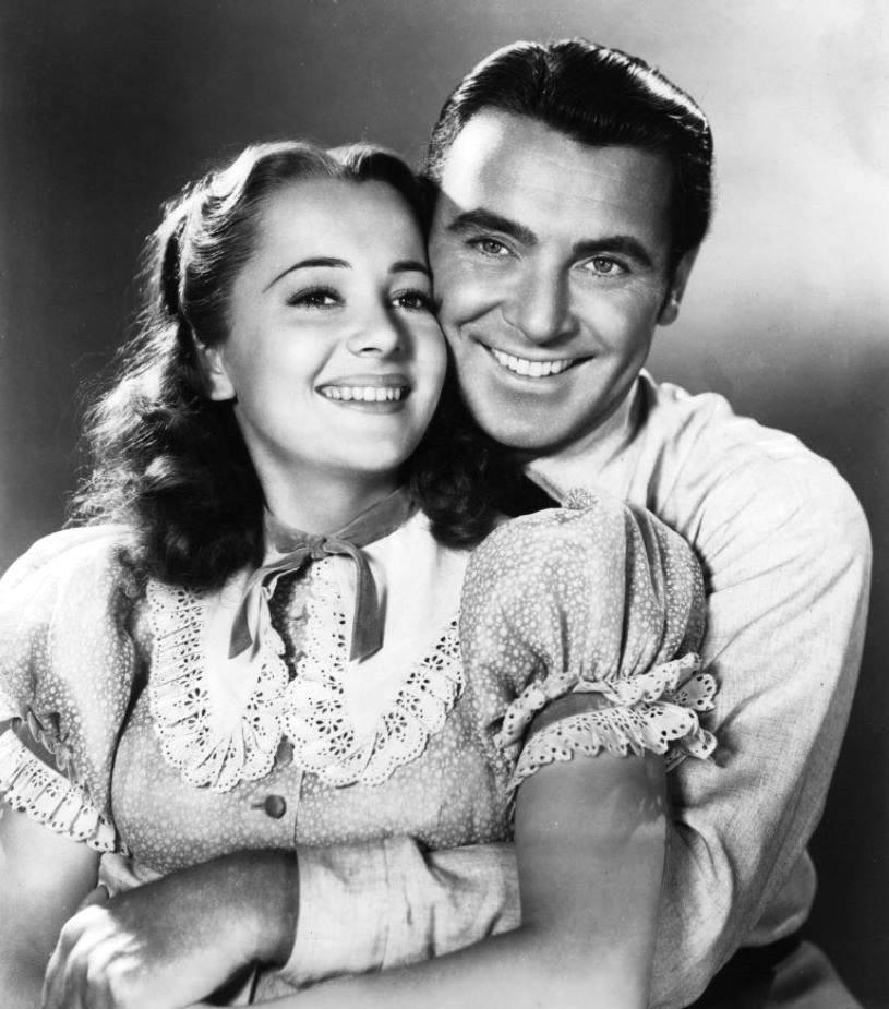George Brent & Olivia de Havilland