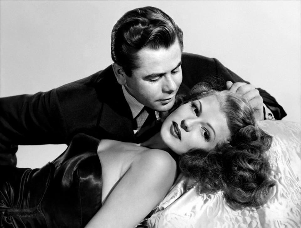 Glenn Ford and Rita Hayworth