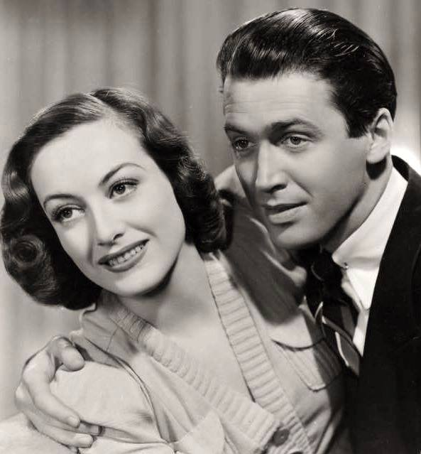 JAMES STEWART & JOAN CRAWFORD