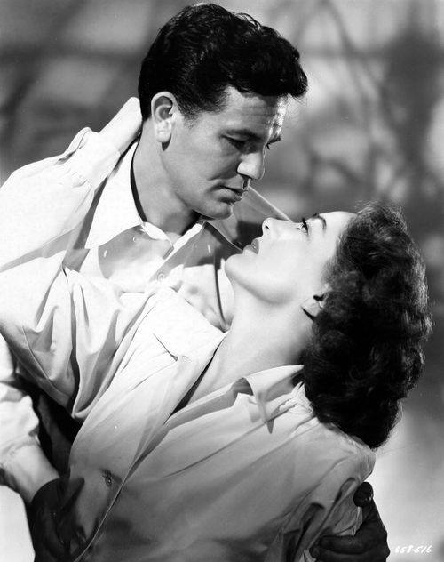John Garfield and Joan Crawford