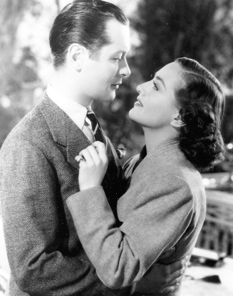 Robert Montgomery and Joan Crawford
