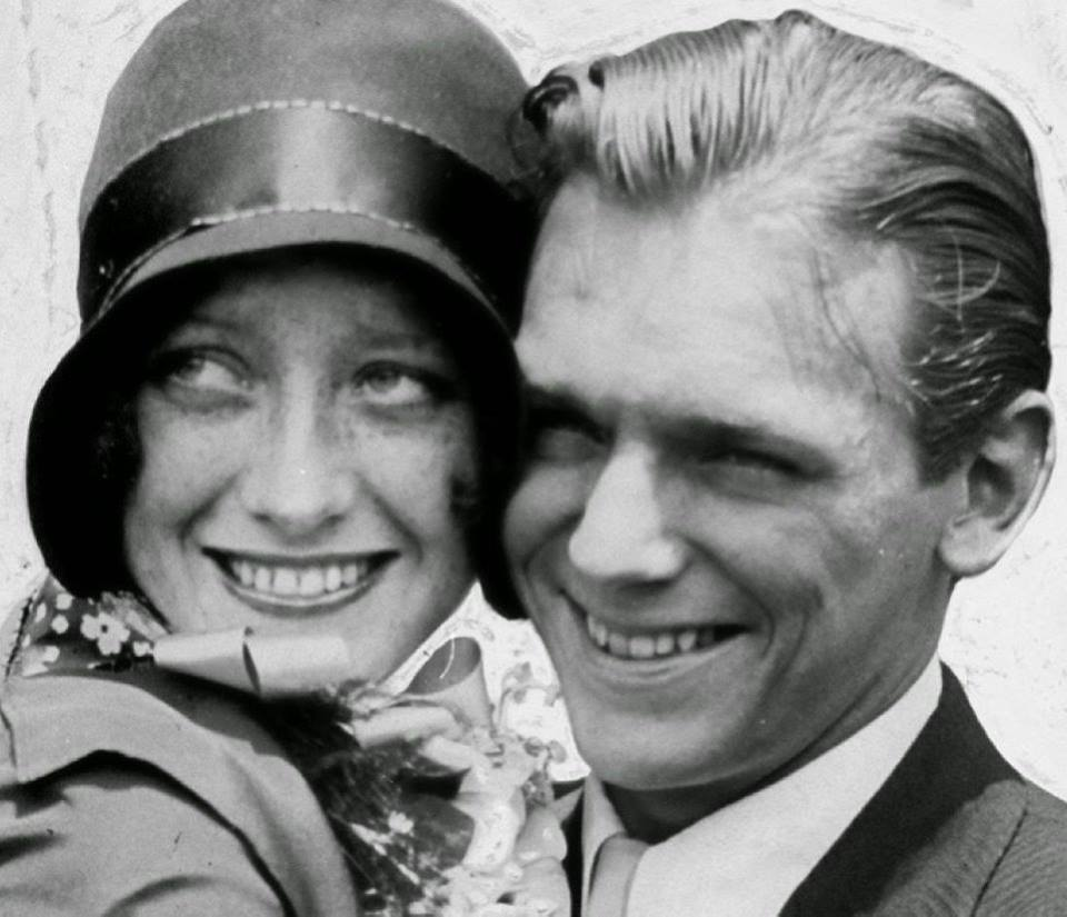 Douglas Fairbanks Jr. e Joan Crawford nel 1929