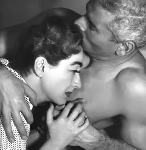 JEFF CHANDLER & JOAN CRAWFORD