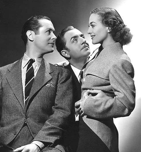 ROBERT MONTGOMERY, JOAN CRAWFORD & WILLIAM POWELL