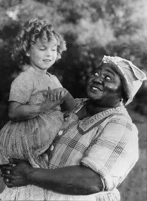 Shirley Temple & Hattie McDaniel