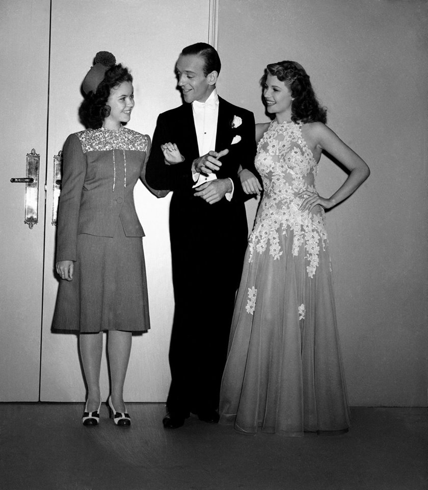 Shirley Temple, Fred Astaire, Rita Hayworth