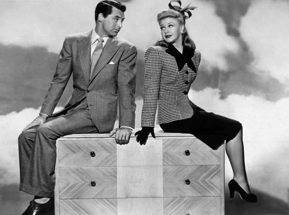 Cary Grant and Ginger Rogers