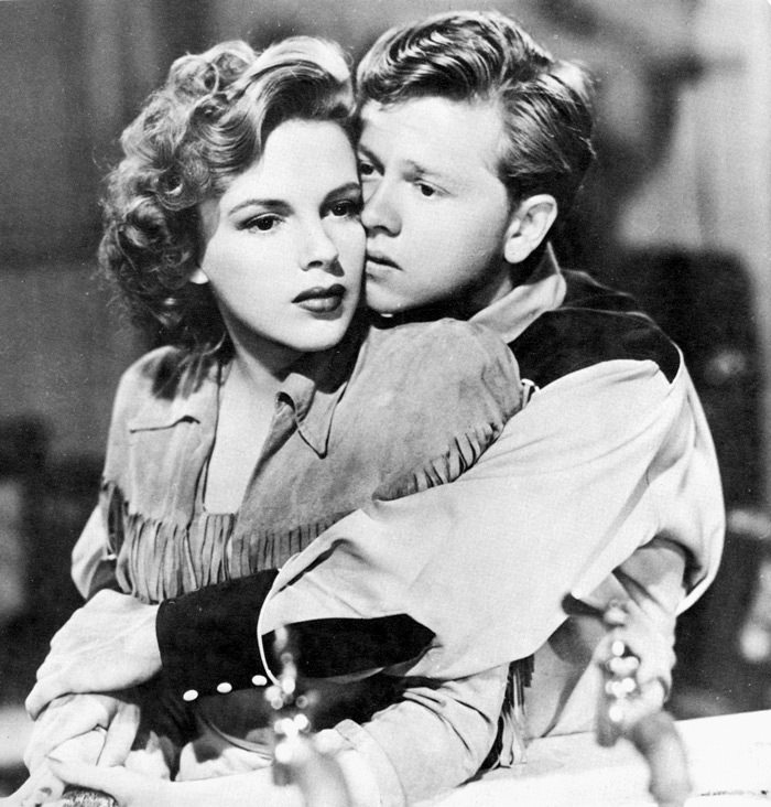 Mickey Rooney e Judy Garland