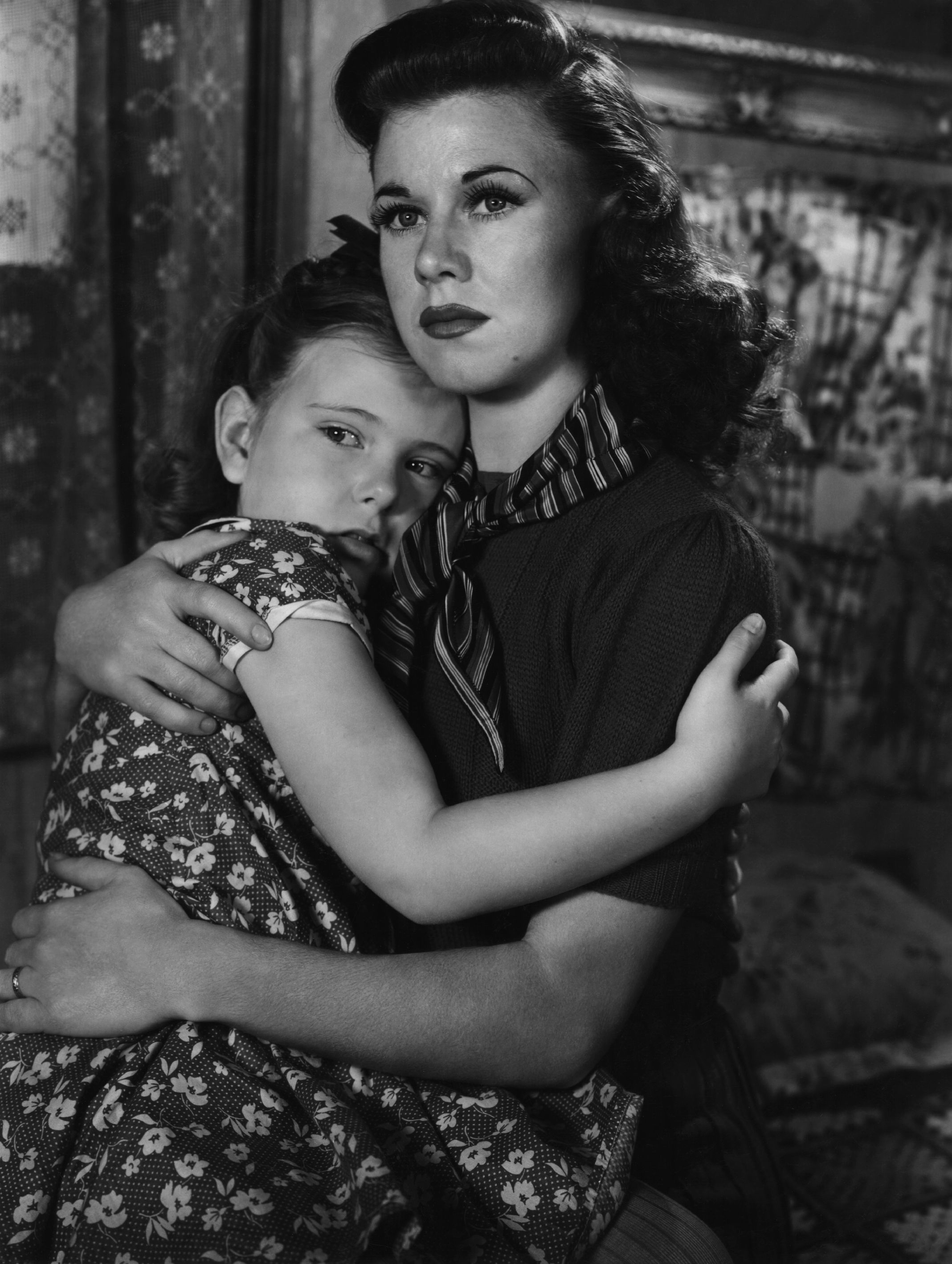 Ginger Rogers With Joan Carroll.