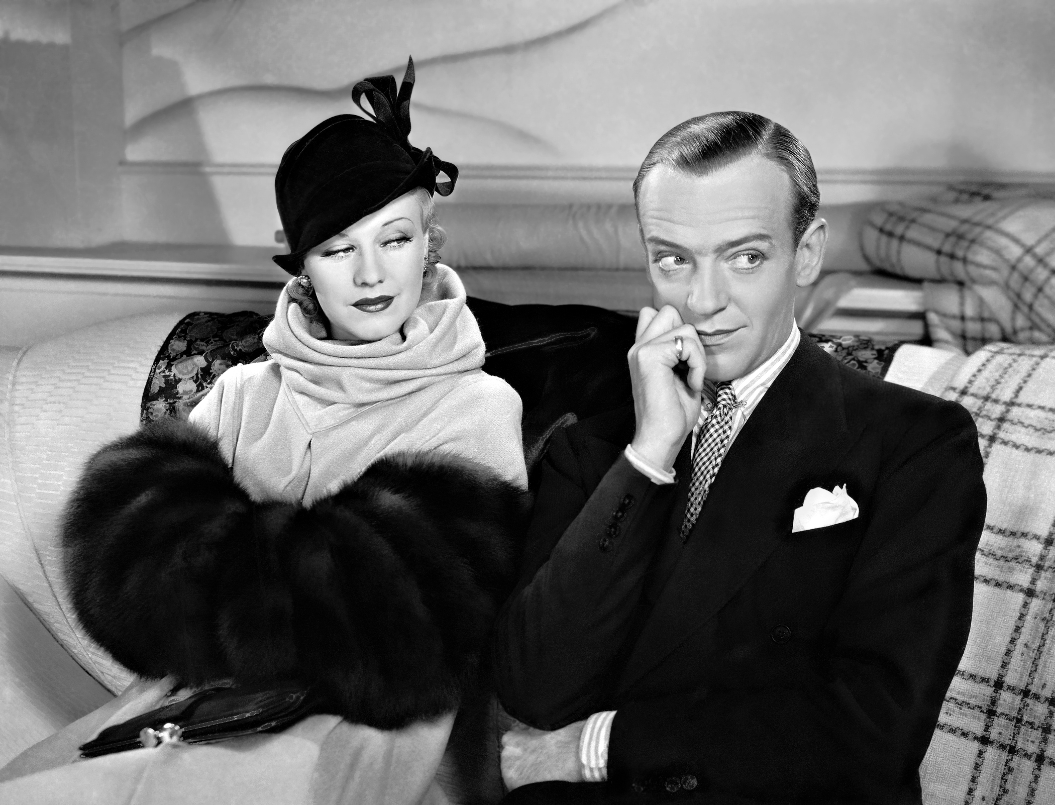 Ginger Rogers With Fred Astaire