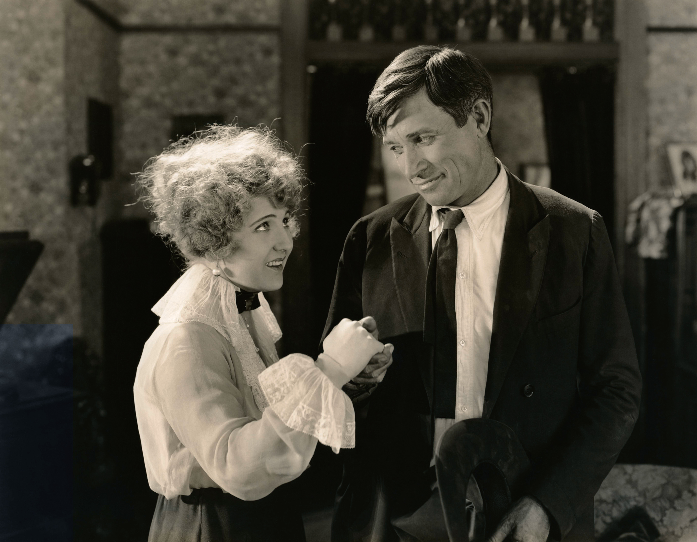Will Rogers With Ruth Clifford.