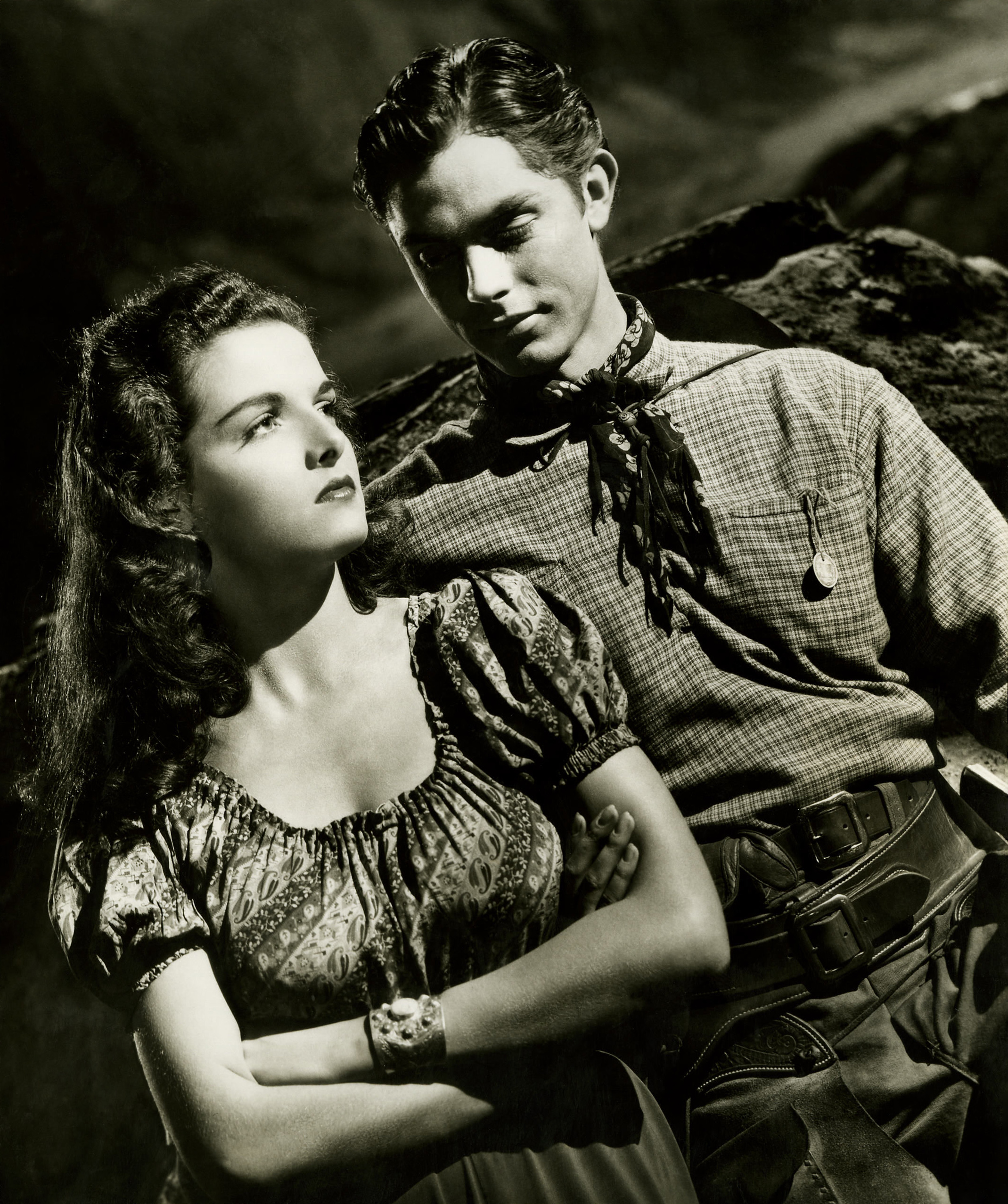Jane Russell With Jack Buetel