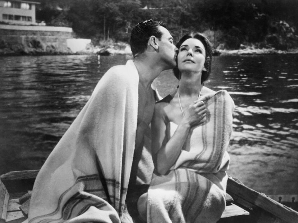 William Holden e Jennifer Jones