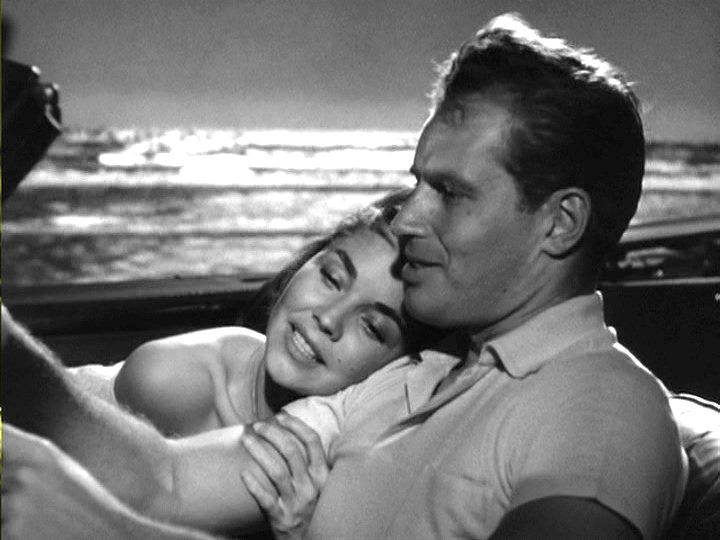 Charlton Heston e Jennifer Jones
