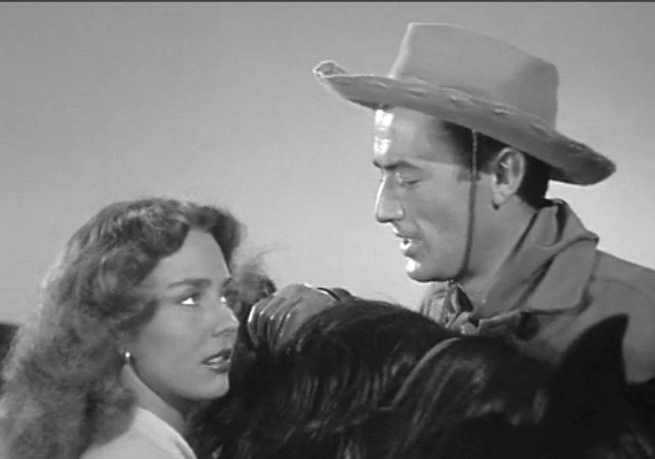 Gregory Peck e Jennifer Jones