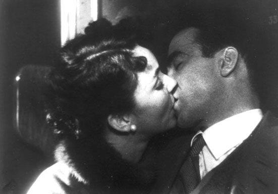Montgomery Clift e Jennifer Jones