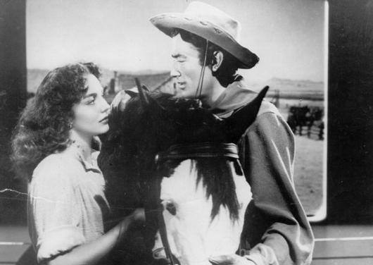 Gregory Peck e Jennifer Jones