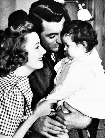 Irene Dunne,Cary Grant and Baby