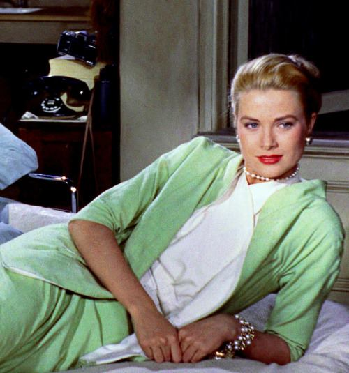 Grace Kelly in the movie