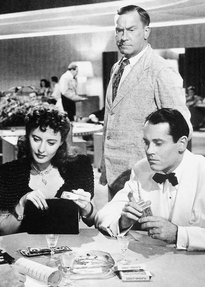 Barbara Stanwyck ,William Demarest & Henry Fonda