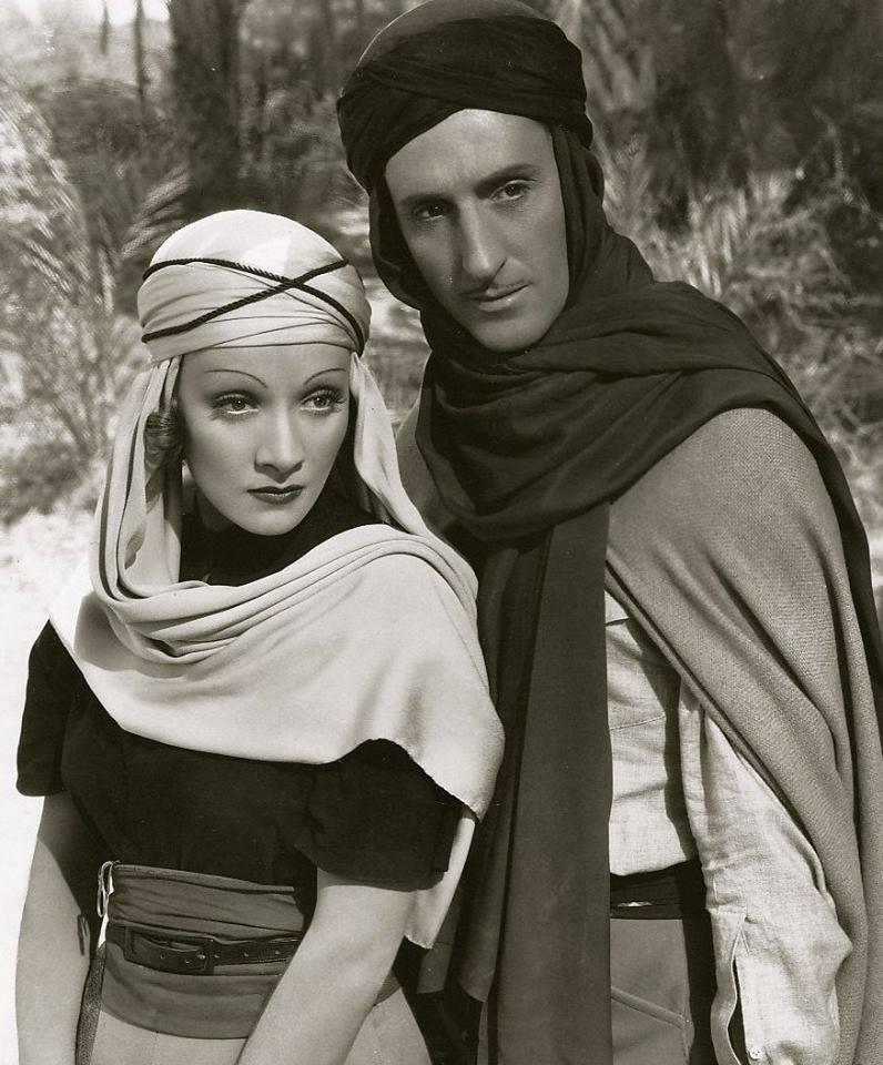 Marlene Dietrich & Basil Rathbone