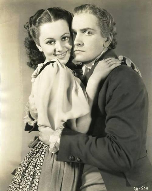 Olivia De Havilland & Fredric March